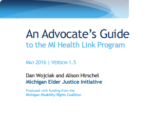 advocate's guide front page